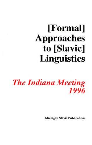 Formal Approaches to Slavic Linguistics #5: Indiana 1996 (Michigan Slavic Materials)