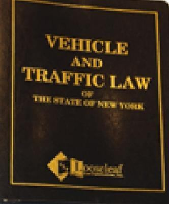 Vehicle & Traffic Law of New York State