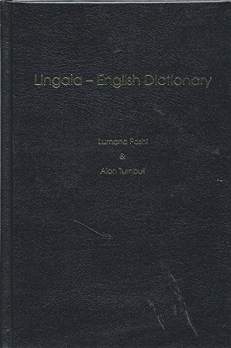 Lingala-English Dictionary