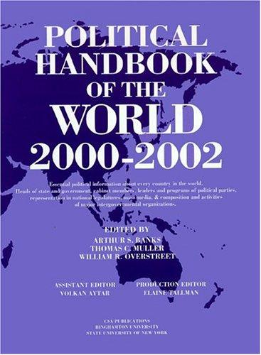 Political Handbook of the World: 2000-2002