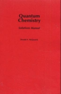 Quantum Chemistry Solutions Manual