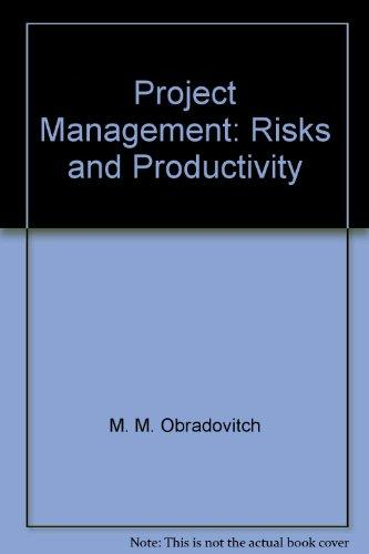 Project management: Risks and productivity