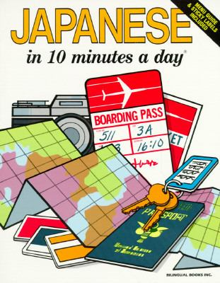 Japanese in 10 Minutes a Day - Kris Kershul - Paperback - REVISED