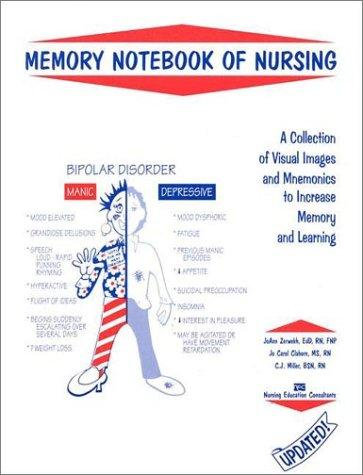 Memory Notebook of Nursing: A Collection of Visual Images and Mnemonics to Increase Memory and Learning