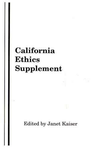 California Ethics Supplement