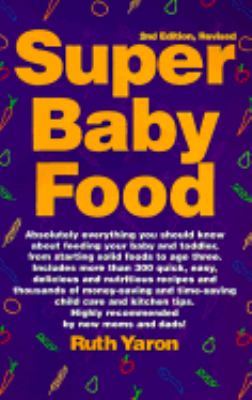 Super Baby Food | Rent 9780965260312 | 0965260313