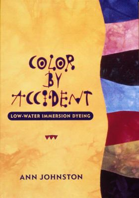 Color by Accident: Low-Water Immersion Dyeing