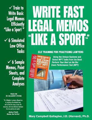 Write Fast Legal Memos Like a Sport(tm)