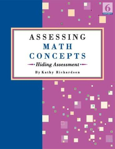 Assessing Math Concepts: Hiding Assessment