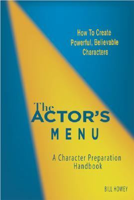 Actor's Menu A Character Preparation Handbook