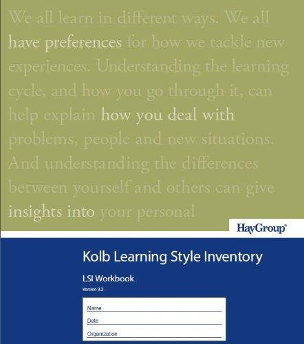 Kolb Learning Style Inventory Version 3.2 Single Copy