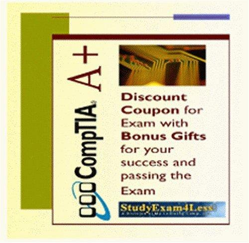 CompTIA A+ Exam Coupons + CompTIA A+ 220-301 Hardware and CompTIA 220-302 A+ Operating System Practice Tests