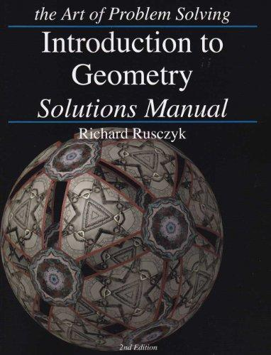 Introduction to Geometry: Solutions Manual