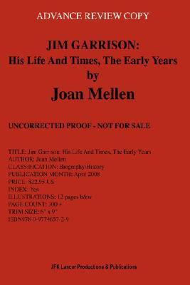Jim Garrison: His Life and Times - The Early Years