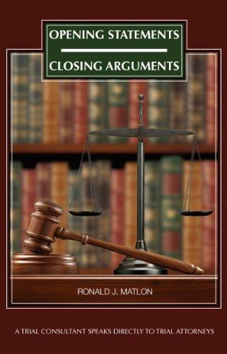 Opening Statements - Closing Arguments