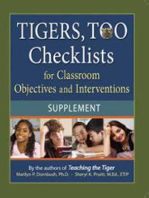Tigers, Too Supplement: Checklists