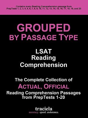 GROUPED by Passage Type: LSAT Reading Comprehension
