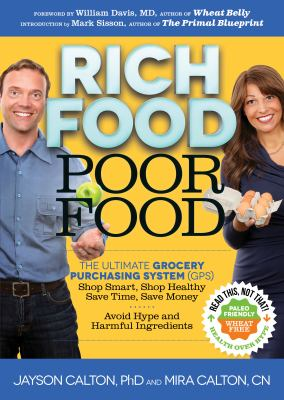Rich Food Poor Food : Your Grocery Purchasing System