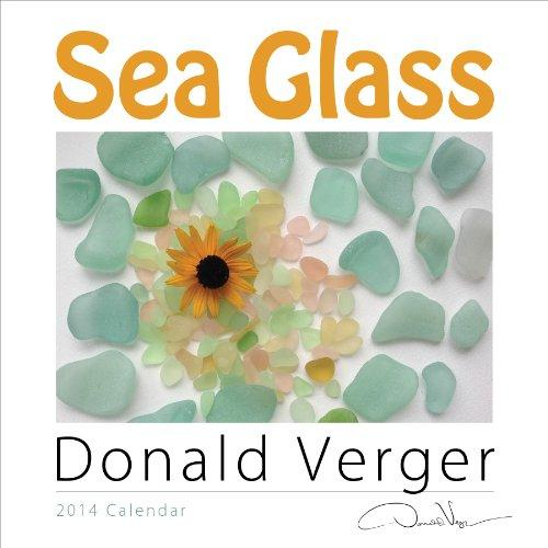 "Donald Verger 2014 SEA GLASS Fine Art Nature Wall Calendar 12""x12"""