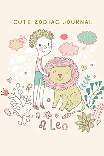 CUTE ZODIAC JOURNAL: LEO THEME COVER