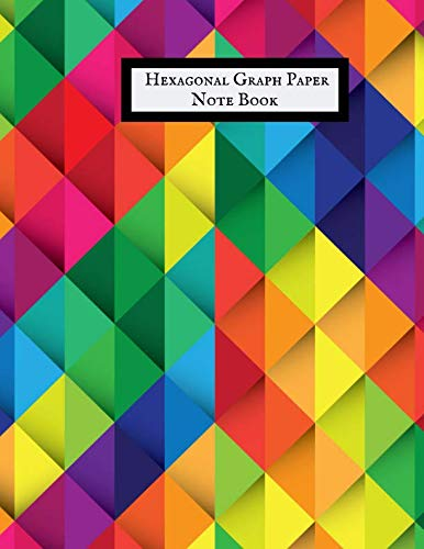 Hexagonal Graph Paper Notebook: Hexagonal Graph Paper Notebook | Organic Chemistry & Biochemistry Note Journal| Graph Paper Work Book Suitable for ... structuring sketches, Knitting & Many more.