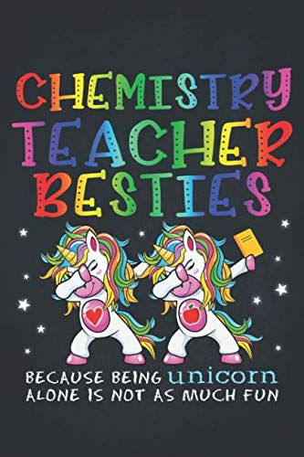 Unicorn Teacher: Chemistry Teacher Besties Teacher's Day Best Friend 2020 Planner Calendar Daily Weekly Monthly Organizer Magical dabbing dance in class is best with BFF 6x9