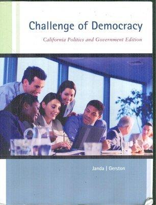 Challenge of Democracy (California Politics and Government Edition)
