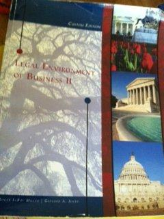 Legal Environment of Business II Custom Edition (L