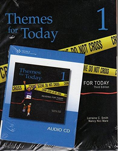 Themes for Today 1: Reading For Today 3rd Edition, Student Book/Audio CD Bundle