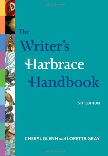 The Writer's Harbrace Handbook, 5th Updated Edition