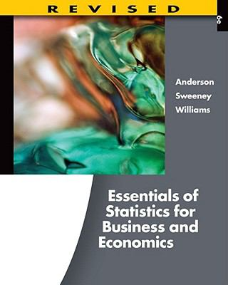 Essentials of Statistics for Business and Economics, Revised (with Printed Access Card)