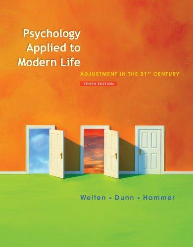 Bundle: Psychology Applied to Modern Life: Adjustment in the 21st Century, 10th + Study Guide