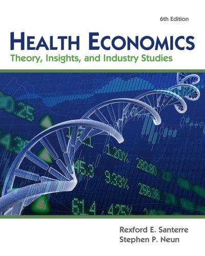 Health Economics (Book Only)