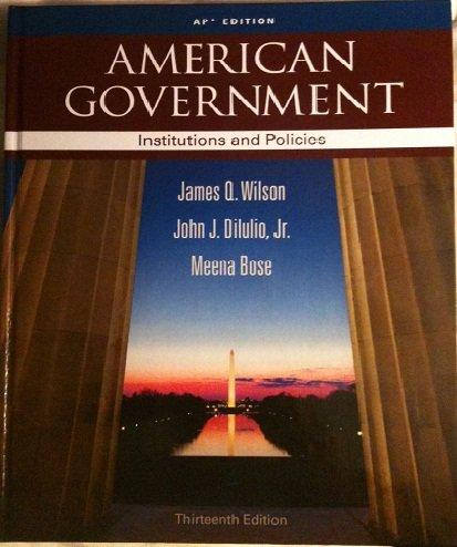 American Government Ap Edition 13th Edition Rent