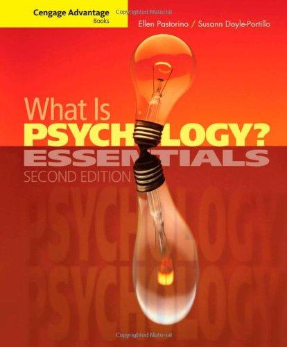 What is Psychology?: Essentials