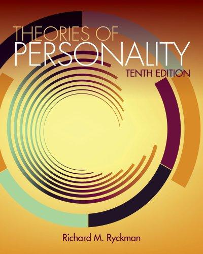 Cengage Advantage Books: Theories of Personality