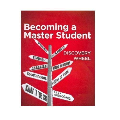 Student Discovery Wheel for Ellis' Becoming a Master Student, 14th