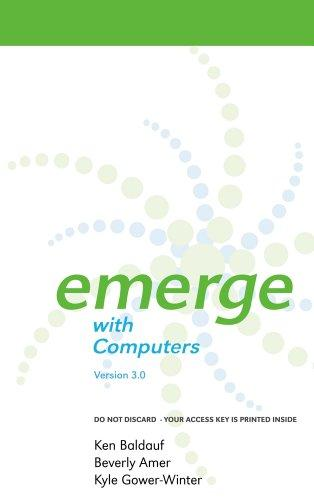 Emerge with Computers Version 3.0 on Gateway Printed Access Card