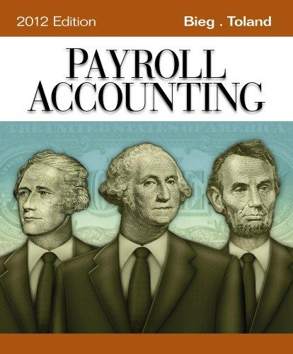 Payroll Accounting 2012 (Book Only)