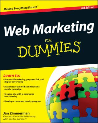 Web Marketing For Dummies (For Dummies (Business & Personal Finance))