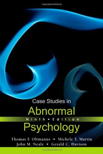Case Studies in Abnormal Psychology