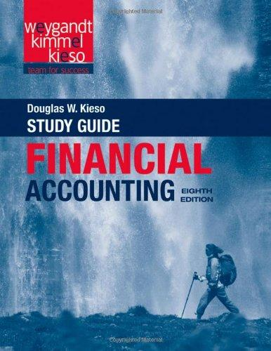 Financial Accounting, Study Guide