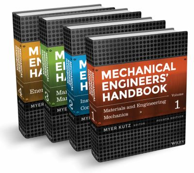 Mechanical Engineers' Handbook, Set (4 Volumes)