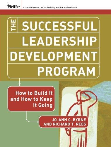 The Successful Leadership Development Program: How to Build It and How to Keep It Going