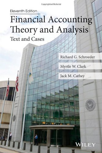 Financial Accounting Theory and Analysis: Text and Cases