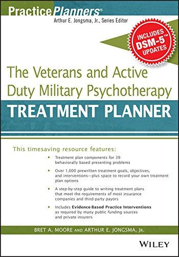 The Veterans and Active Duty Military Psychotherapy Treatment Planner, with DSM-5 Updates (PracticePlanners)