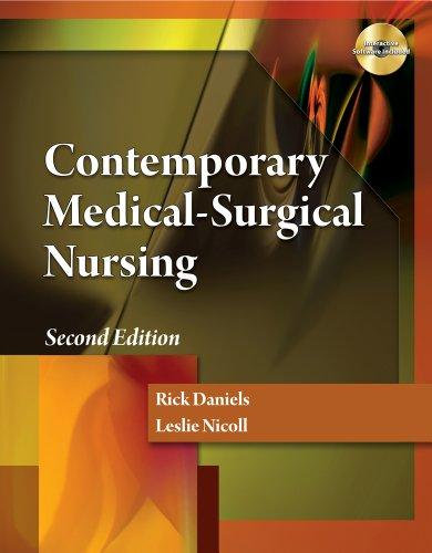 Bundle: Contemporary Medical Surgical Nursing, 2nd + Nursing CourseMate with eBook (1-Year) Printed Access Card