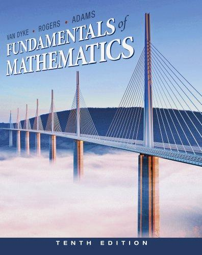 Bundle: Fundamentals of Mathematics, 10th + Mathematics CourseMate with eBook Printed Access Card