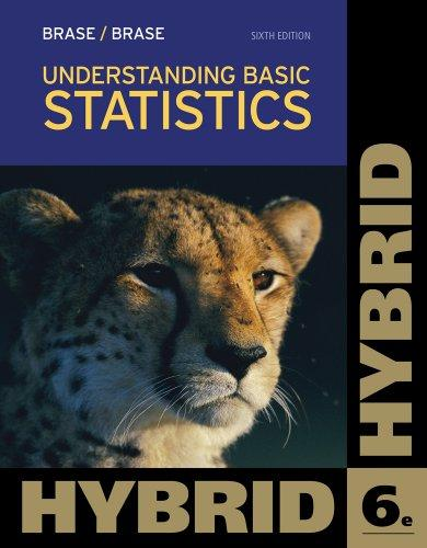 Understanding Basic Statistics, Hybrid (with Aplia Printed Access Card) (Cengage Learning 's New Hybrid Editions!)