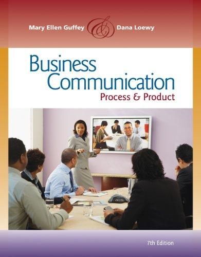 Bundle: Business Communication: Process and Product (with meguffey.com Printed Access Card), 7th + Aplia Printed Access Card + Aplia Edition Sticker